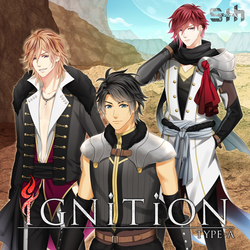 <code6ix主題歌>S+hボーカル&ドラマCD「iGNiTiON」TypA・B</code6ix主題歌>