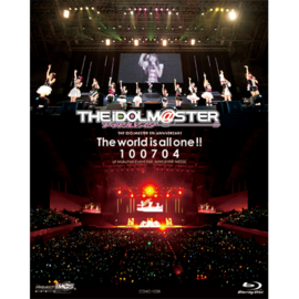 DVD 「THE IDOL M@STER 5th ANNIVERSARY The world is all one !! 100704」